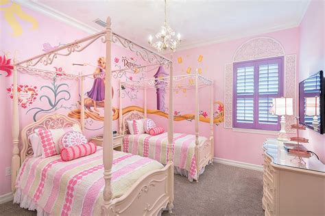 rapunzel bedroom 25 disney inspired rooms that celebrate color and creativity