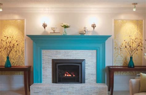Tips For Painting Brick Fireplace by Painting Brick Fireplace Color Ideas Photos 11 Kitchen
