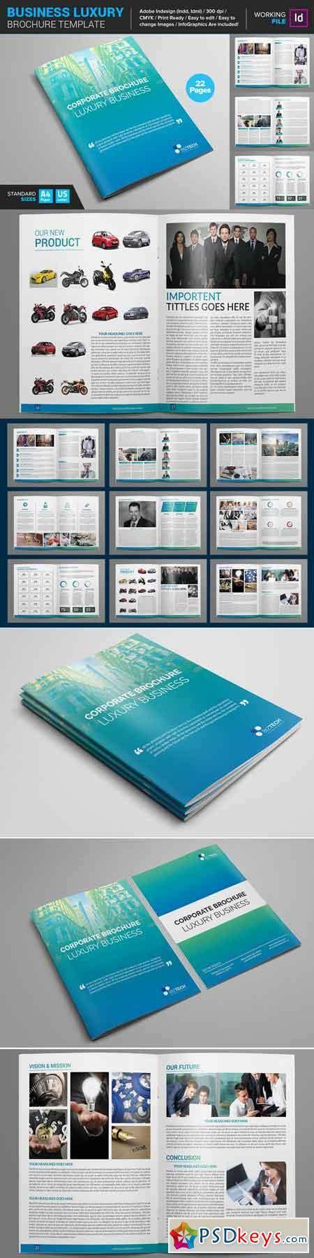 Luxury Brochure Template by Business Luxury Brochure Template 661817 187 Free