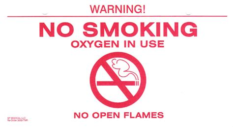 no smoking oxygen signs printable oxygen cylinder carts oxygen supply tubing oxygen