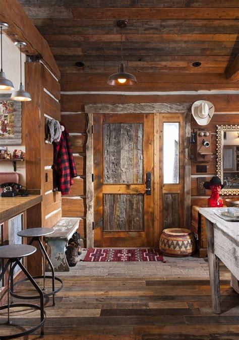 log cabin bedroom with antique wood idea c a b i n f e v e r picmia