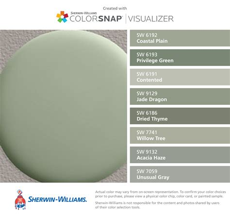 what color matches green sherwin williams color match for restoration hardware bay
