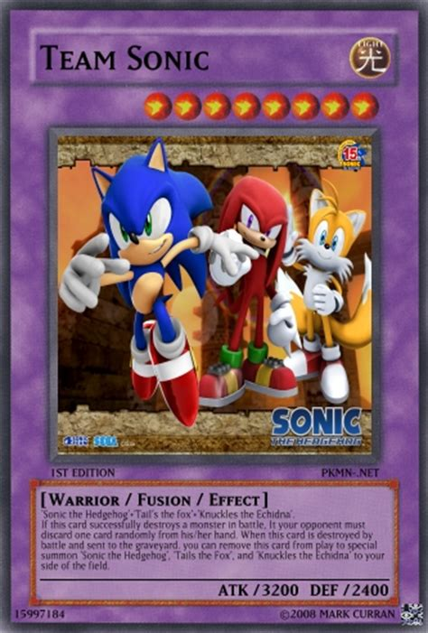 Where Can You Buy A Sonic Gift Card - team sonic yu gi oh card by lightshock16 on deviantart