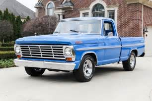 1967 Ford F100 For Sale Blue 1967 Ford F100 For Sale Mcg Marketplace