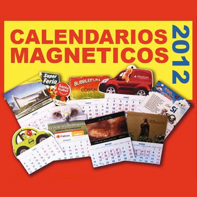 O M Calendario Calendario Magn 233 Tico B M