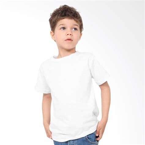 Kaos Anak Putih Polos jual kaosyes kaos polos t shirt anak putih