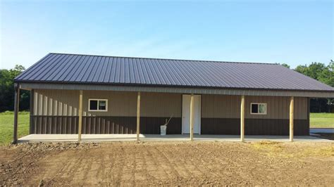 Types Of Sheds by 6 Types Of Barn Styles Milmar Pole Buildings