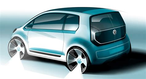 volkswagen electric concept volkswagen reveals the zero emission e up concept
