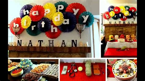 birthday decoration ideas  home youtube
