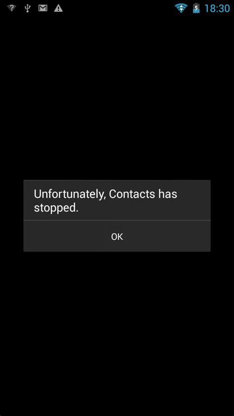 unfortunately android phone has stopped samsung galaxy s3 quot unfortunately contacts has stopped quot error message