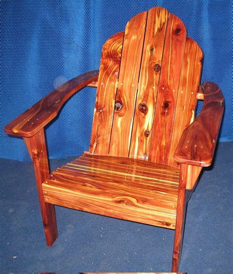 Handmade Adirondack Chairs - made handcrafted finished cedar adirondack chair by
