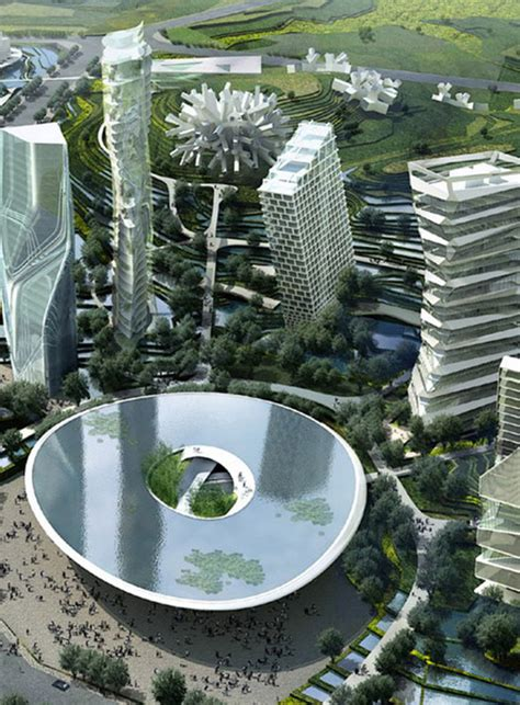 kidd vision center city mad architects huaxi city centre