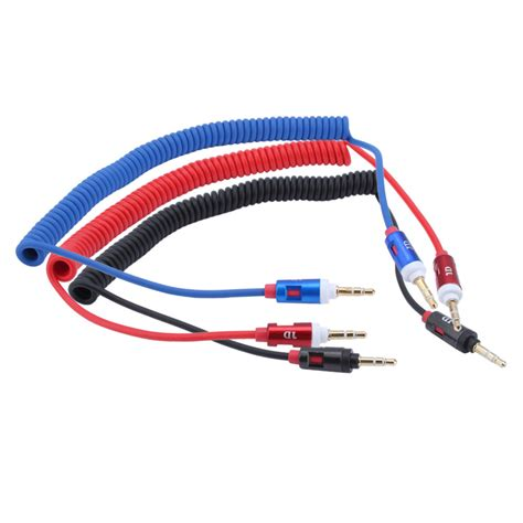 Mobile Phone Cable 3 5mm retractable vehienlar aux cables mobile phone audio