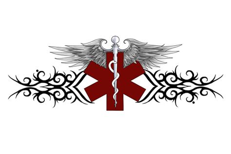 emt tattoos ems by axxyn on deviantart