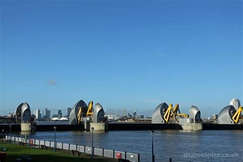 thames barrier upgrade pictures thames barrier closure london itv news