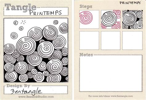 zentangle pattern blog zentangle pattern printemps zentangle pinterest