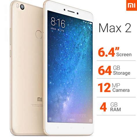 Xiaomi Mi Max 2 4 64 Snap Gold mi xiaomi max 2 64gb 4g lte dual sim gold shoprayz