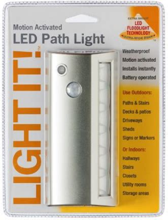 Www Light by 20032 301 6 Led Path Lig Ht 42 Lumens Silver Products The Bostwick Braun Company