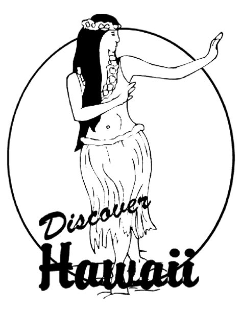hawaiian princess coloring pages hawaii island coloring pages the