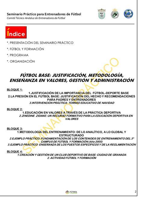 Modelo De Curriculum Deportivo Karate Seminario Futbol Base