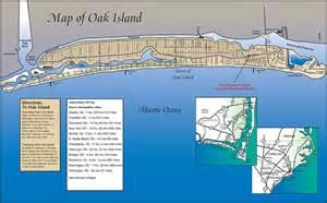 directions to oak island nc map of oak island nc
