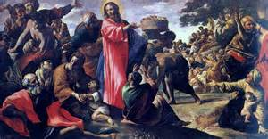 The miracle of the bread and fish by giovanni lanfranco 1620 23