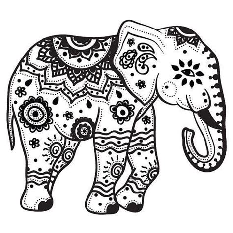 elephant coloring pages aztec designs best 25 mandala elephant ideas on pinterest animal