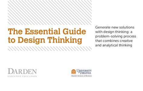 design thinking process guide ebook design thinking