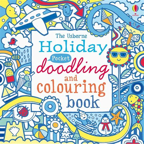Drawing Doodling And Coloring Book
