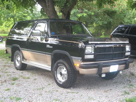 1992 dodge ramcharger information and photos momentcar