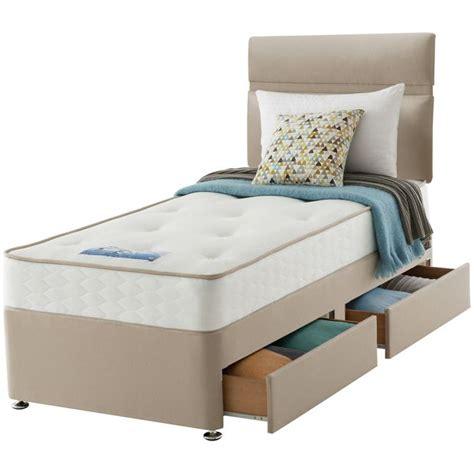 buy sealy revital backcare single 2 drw divan bed at argos
