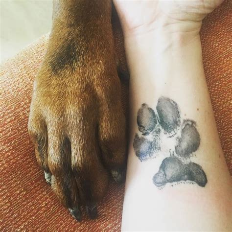 inmortalizaron el amor  tu mascota   lindo tatuaje