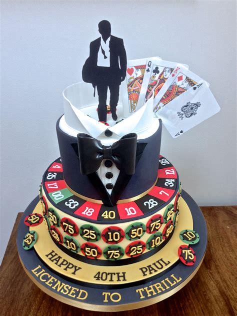 Vegas Cake Decorations Casino Royale James Bond Cake Cakes That Are Really