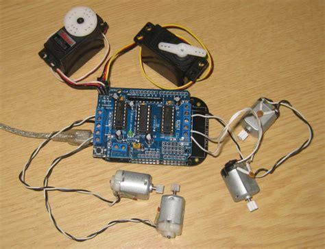tutorial arduino servo motor tutorial arduino motor stepper servo shield part 1