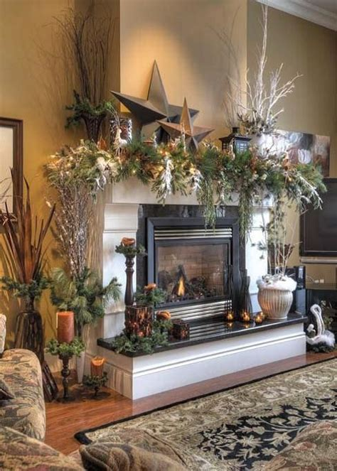 807 best images about christmas mantels on pinterest
