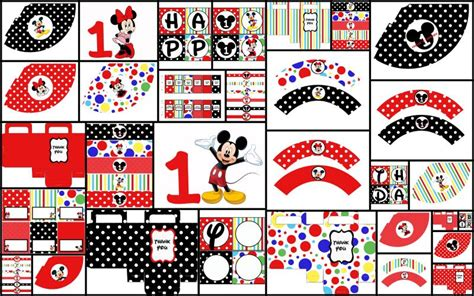 printable mickey mouse birthday decorations click to enlarge image