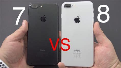 iphone 7 vs iphone 8 iphone 8 vs iphone 7 lohnt sich das upgrade kaufberatung