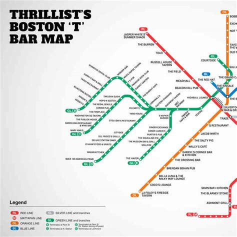 map of boston bars boston nightlife best bars clubs and more