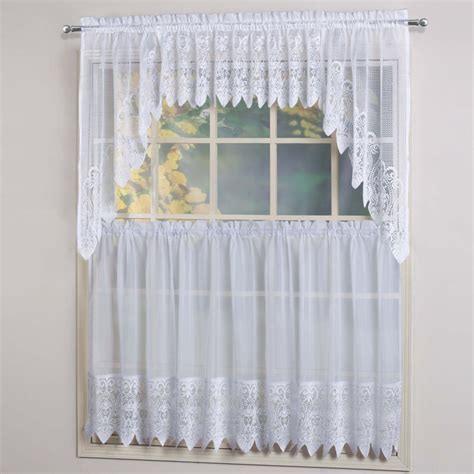 Swag Curtains For Kitchen Swag Kitchen Curtains Myideasbedroom