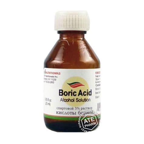 Bor Ic boric acid solution 25ml best price to buy