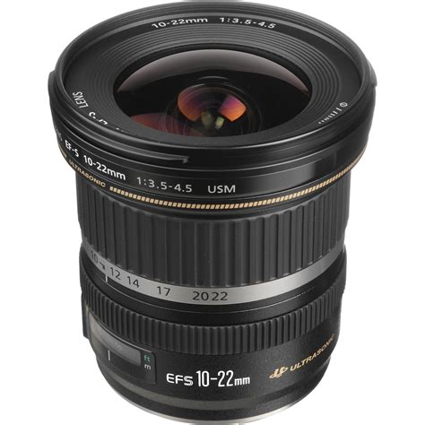 Lensa Canon Efs 10 22mm canon ef s 10 22mm f 3 5 4 5 usm lens 9518a002 b h photo
