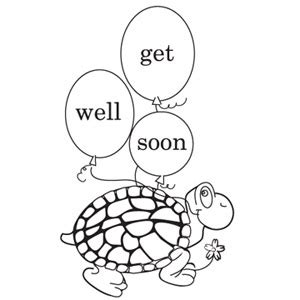 get well soon print and color greeting card parenting