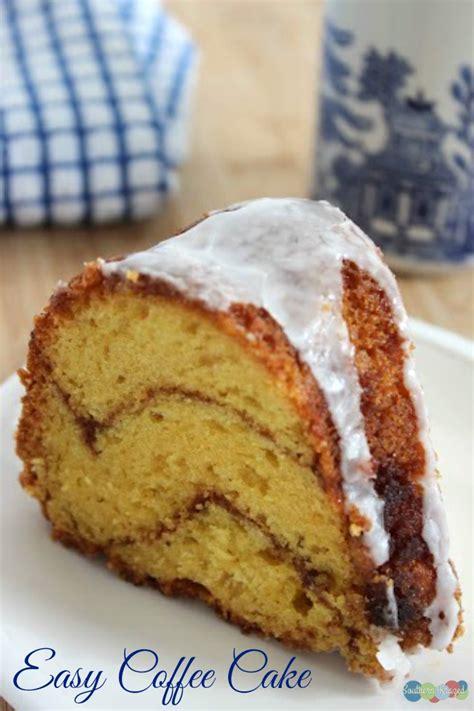 delightfully easy coffee cake recipe southern krazed