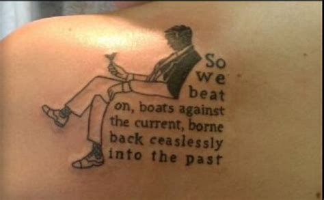 great gatsby tattoo 15 awesome great gatsby tattoos