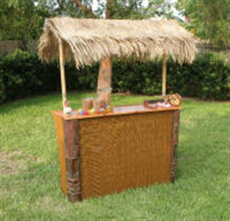 Table Top Tiki Bar Hut by Tiki Bar Central Tiki Huts Bamboo Furniture Tables