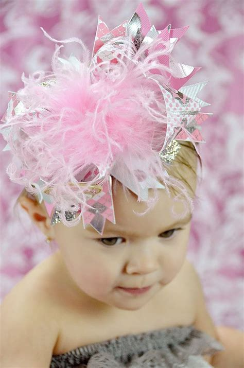 miss cutie pie headband think pink bows pink sock monkey the top boutique hair bow headband