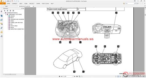 mitsubishi lancer ix 2004 wiring diagrams auto repair