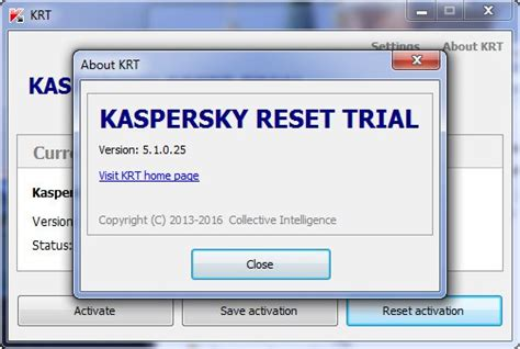 kaspersky reset trial kaspersky 2016 all products trial resetter