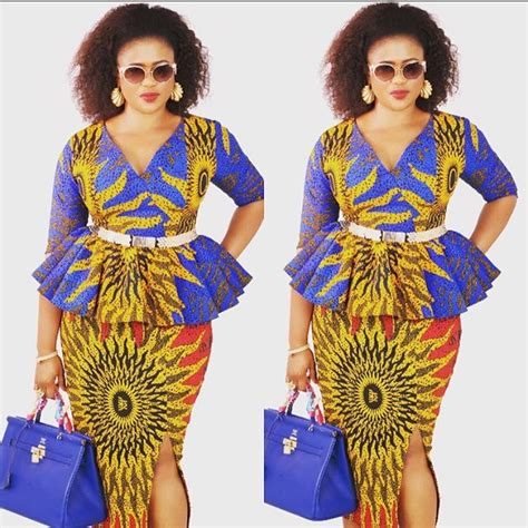 latest 2016 styles of ankara gowns in pinterest ankara style 2017 10