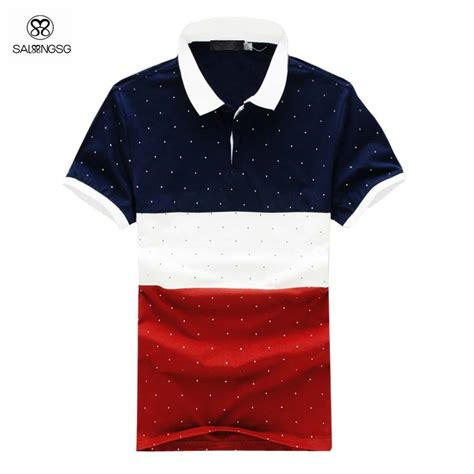 New Arrival Brand Polo Xidi Type Jc129 aliexpress buy classic fit polo shirt striped